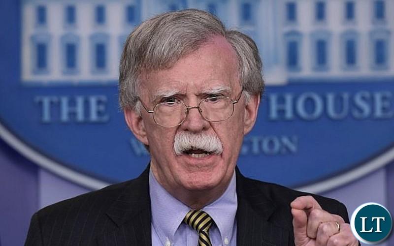U.S. National Security Advisor John Bolton