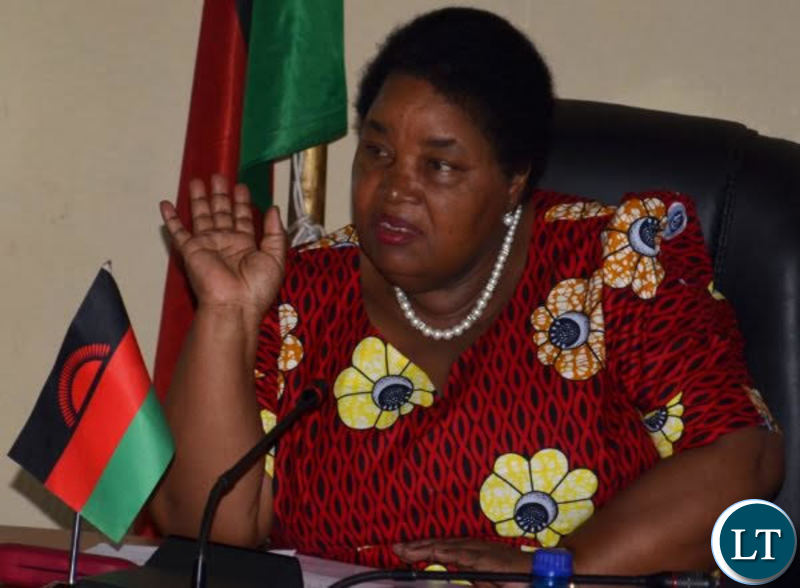Malawi Minister of Lands, Housing and Urban Development Jean Kalilani
