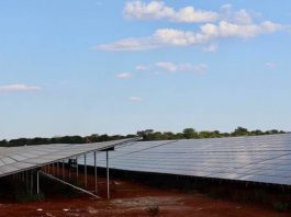 Construction works of the $60 million, 54 megawatts solar plant at the Lusaka Multi Facility Economic Zone