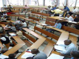 Exams at UNZA
