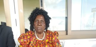"Esther Ndhlovu, 78, widow of the Zambian football legend Samuel ""Zoom"" Ndhlovu"