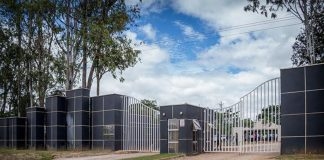 Entrance to Leopards Hill Memorial Park
