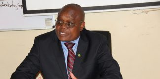 Ministry of Health Permanent Secretary for Technical services Kennedy Malama
