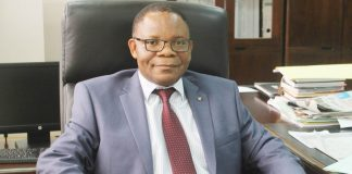Ministry of Mines and Minerals Development Permanent Secretary Paul Chanda