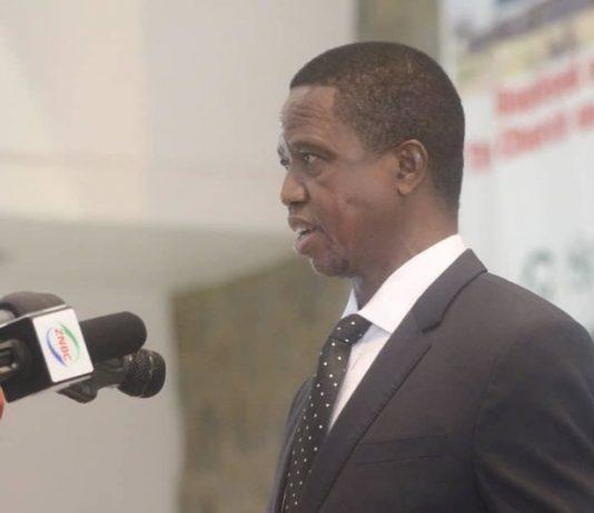 President Lungu