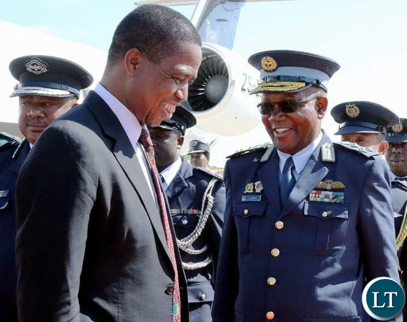 Zambia Air force Deputy Commander Major Gen. Kapotwe Chintu