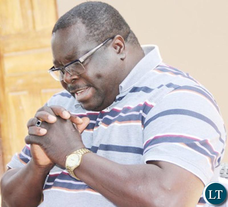 National Democratic Congress Consultant Chishimba Kambwili