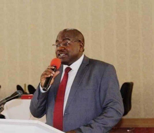 Health Minister Dr. Chitalu Chilufya