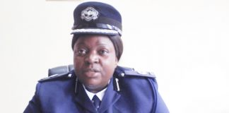 Zambia Police spokesperson Esther Katongo