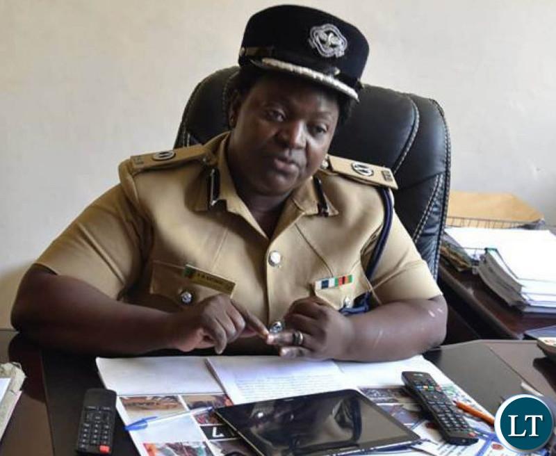 Zambia Police spokesperson Esther Katongo