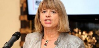 UK Minister for Africa Harriett Baldwin