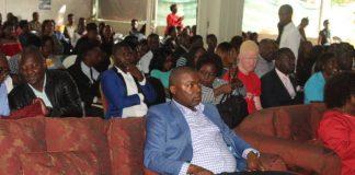 Mr Lusambo attending Church Service at Bread of Life Ndola