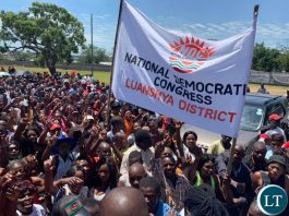 NDC members in Luanshya district