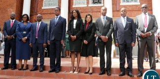 The Swearing in Ceremony of 8 High Court Judges
