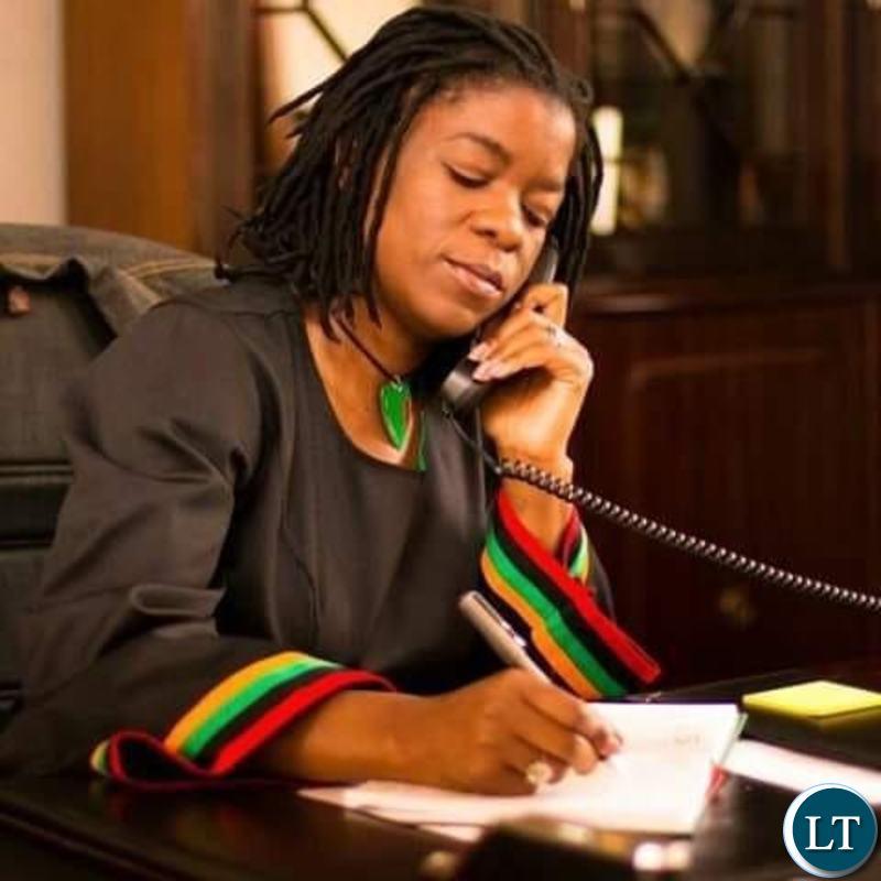 Zambia's High Commissioner to Kenya Brenda Muntemba