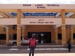 THE ZESCO Constructed Edgar Lungu Technical Secondary School in Simambumbu area of Petauke district.