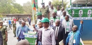 President Lungu gracing the Central Provincial Conference over the weekend