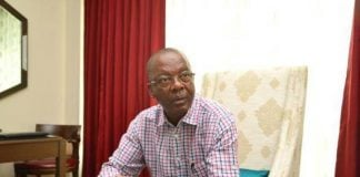 Minister of Energy Mathew Nkhuwa