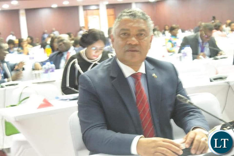 Justice Minister Given Lubinda attending the National Dialogue Forum