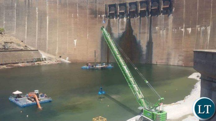 Kariba dam under rehabilitation