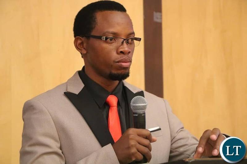 Sesheke Central lawmaker Honourable Romeo Kango'mbe addressing the delegates
