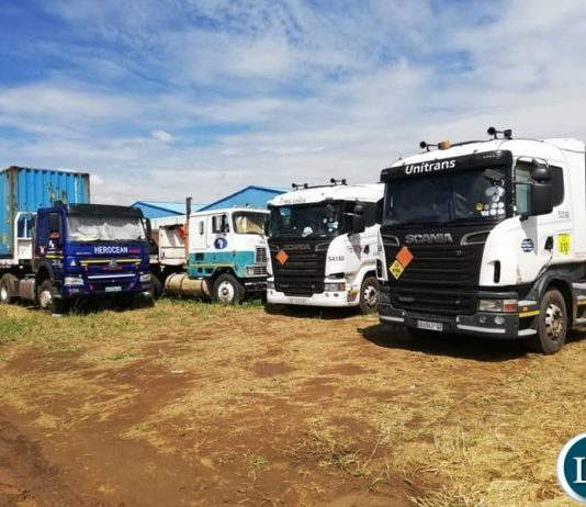 The Impounded Trucks