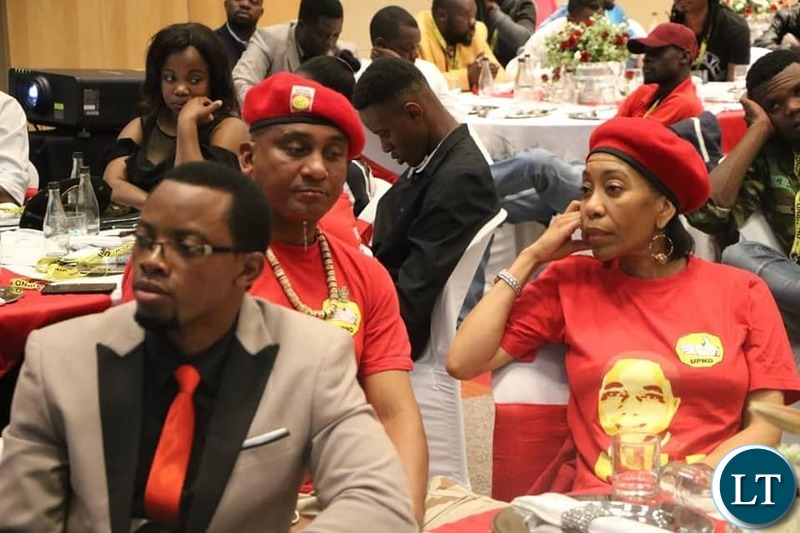 The UPND Delegates from three countries that met in Sandton to Fund raise for the party