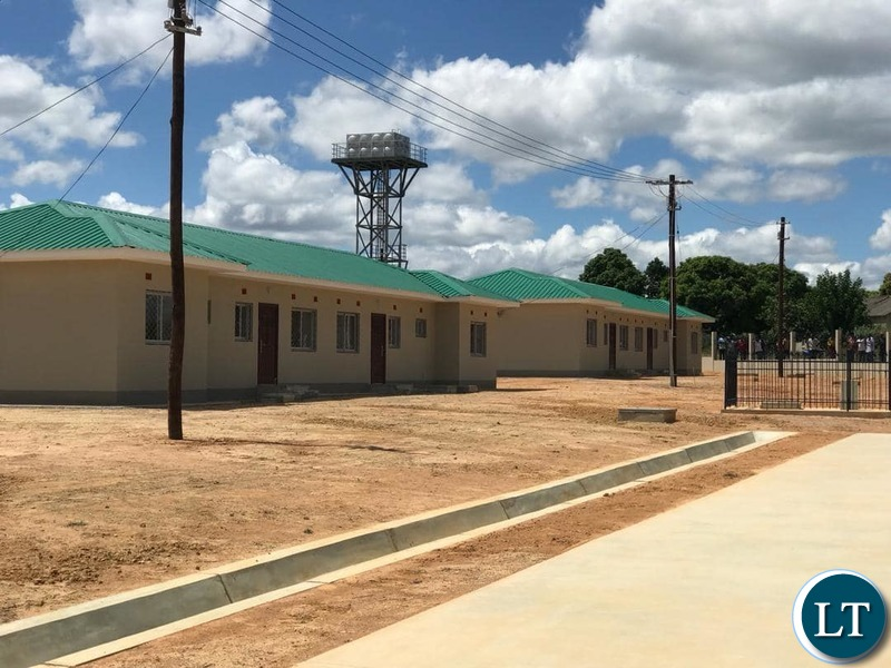 Newly Built  Police Houses in Luanshya
