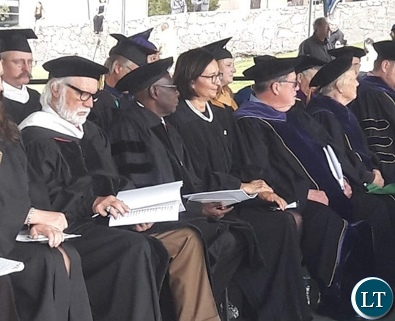 His Royal Highness Chitimukulu has been conferred with a Doctorate at Western New Mexico University in the USA