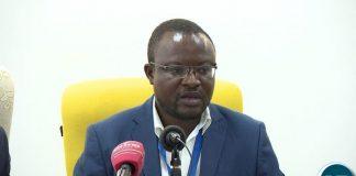 NDF spokesperson Isaac Mwanza
