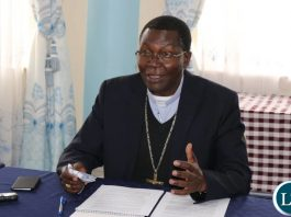 Archdiocese of Kasama Archbishop Ignatius Chama