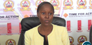 Commissioner of the Drug Enforcement Commission Alita Mbahwe