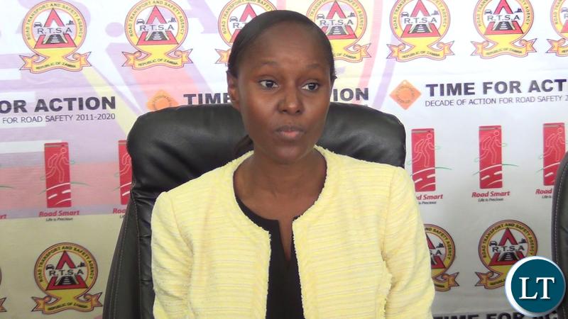 Commissioner of the Drug Enforcement Commission Alita Mbahwe