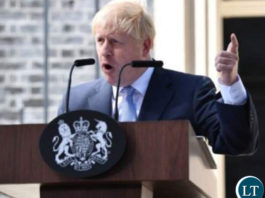 UK's New Prime Minister Boris Johnson