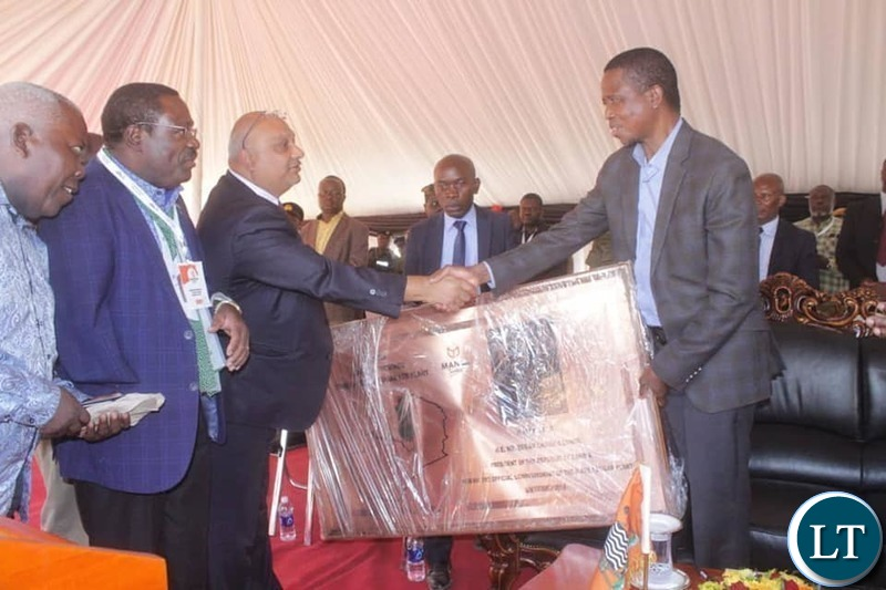 President Lungu at the Launch of Mansa Sugar
