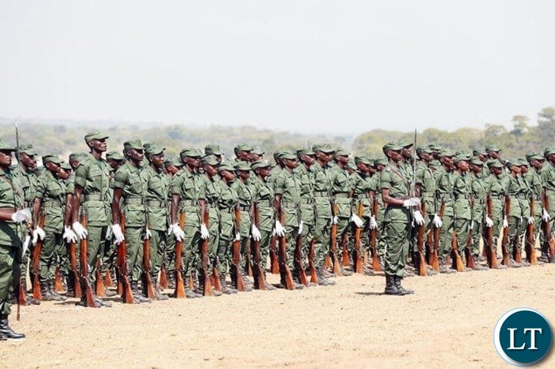 Zambia Correctional Service pass out parade