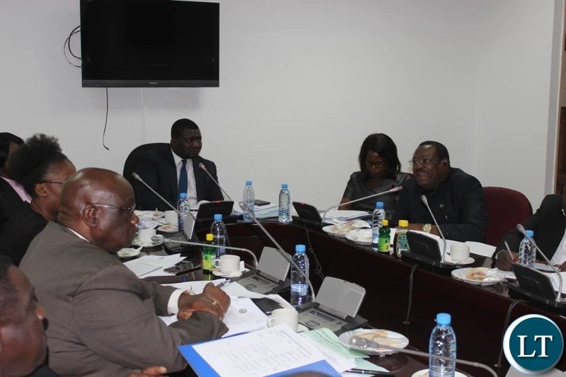 Parlimanentary Committee hearing stakeholders make submissions2