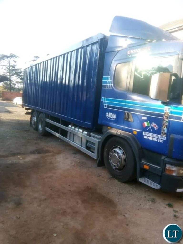 Pretoria- Sunday 15th September, 2019------ Four Zambian trucks belonging to different companies in Zambia have been hijacked in Johannesburg, South Africa by unknown people.