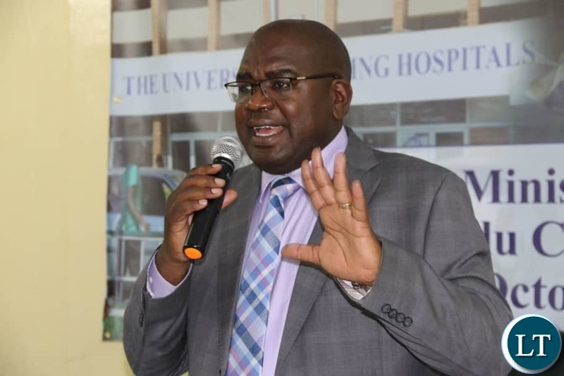 Commissioning of the Kidney transplant centre at the University Teaching Hospital by Health Minister Dr. Chitalu Chilufya