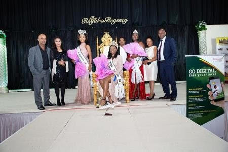 Crowning of Cecilia Musonda as Miss Africa Great Britain 2019.