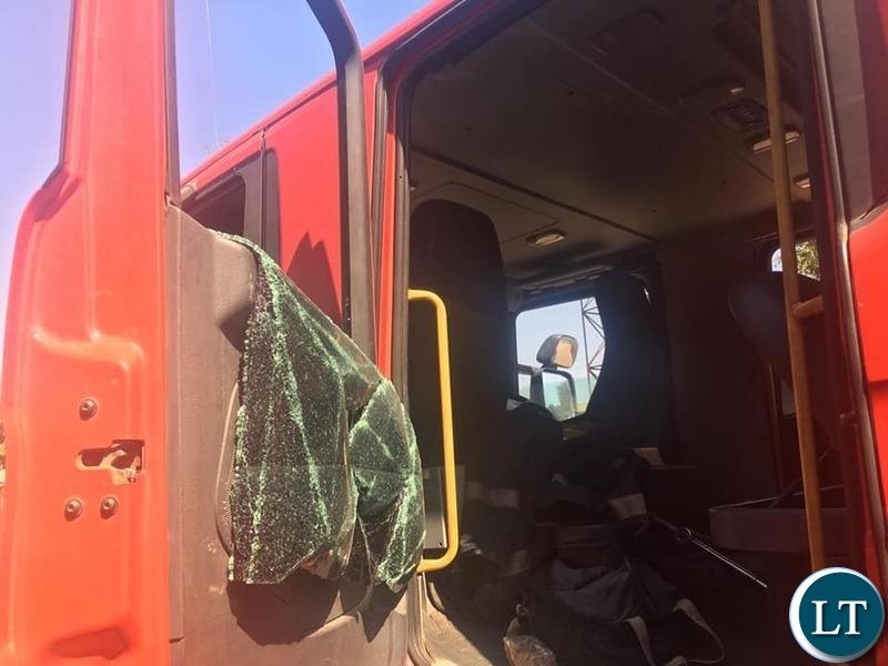 The Damaged 1 Million dollars Fire Truck