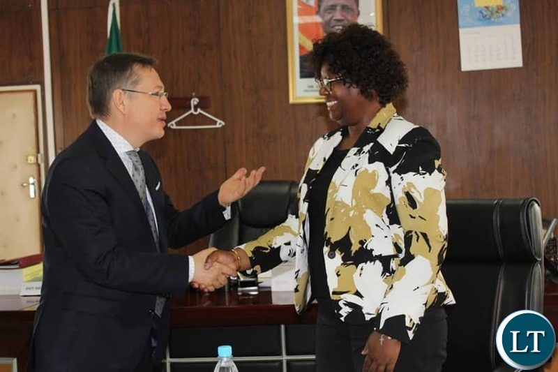 MINISTER of Works and Supply Honourable SYLVIA BAMBALA