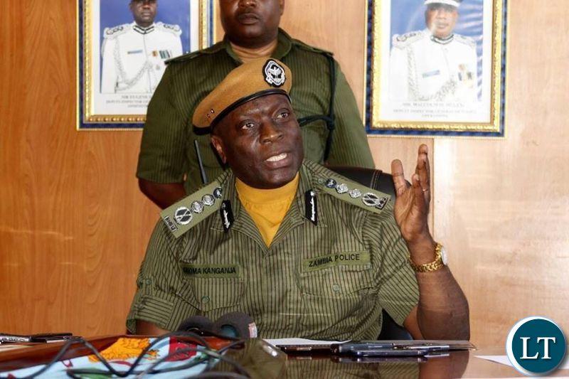 INSPECTOR General of Police, Kakoma Kanganja