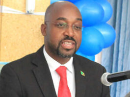 Minister of Higher Education, Hon. Dr. Brian Mushimba at UNZA