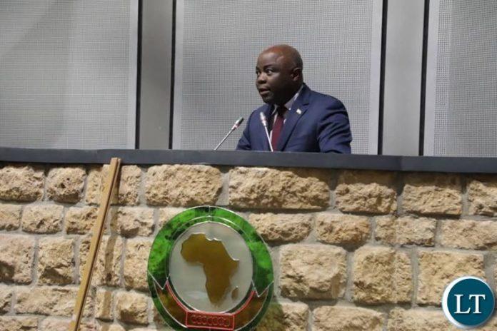 Home Affairs Minister Hon. Stephen Kampyongo