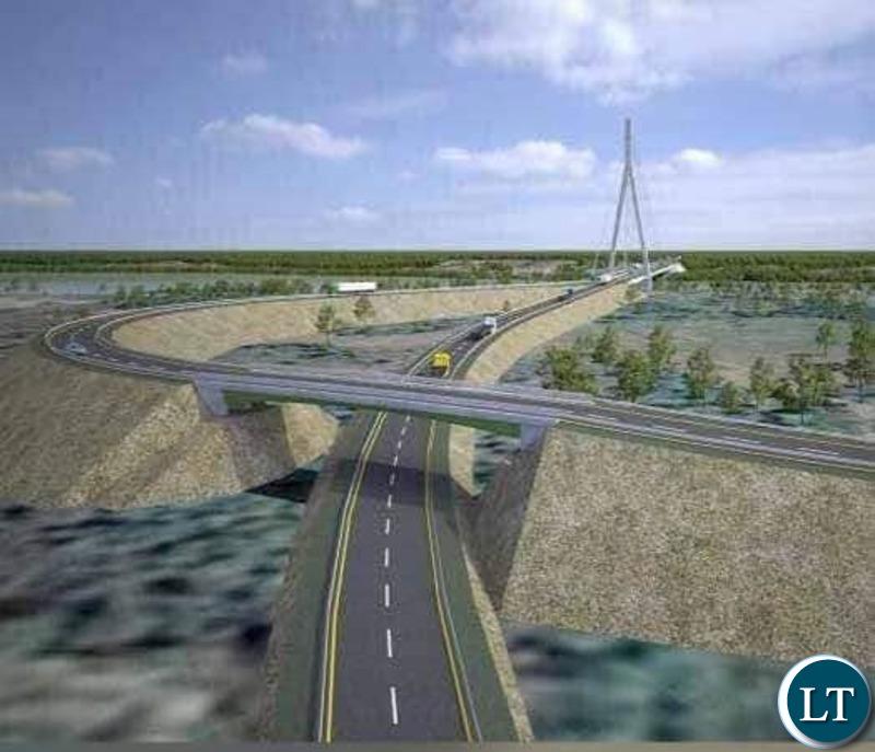 The Kasomeno - Mwenda toll road and Luapula Bridge project