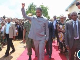 PRESIDENT LUNGU EXPECTED IN NORTH WESTERN PROVINCE TO COMMISSION A SOLAR POWER PLANT.