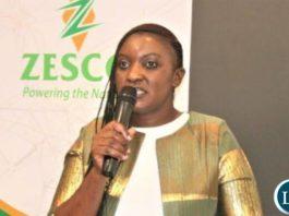 ZESCO's Public Relations Manager : Mrs Hazel Zulu