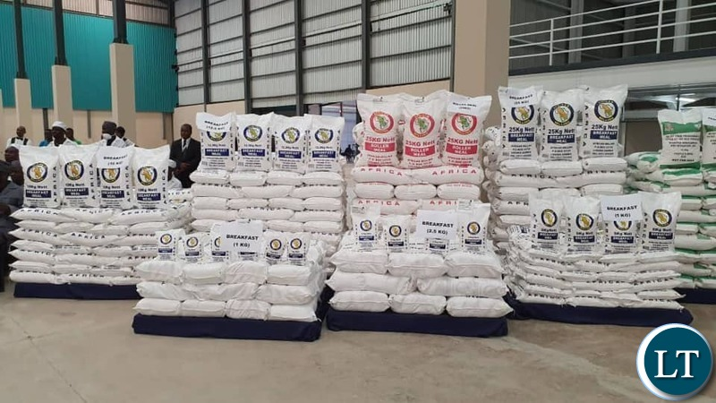 The African Milling New Maize Plant situated along Buyantanshi road in Lusaka