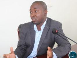 UNZALARU General Secretary, Dr. Kelvin Mambwe